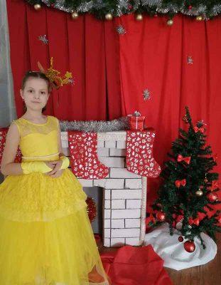Валерия Приходкова (костюм «Бэль»)