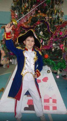 Никита Лебедев (костюм «Наполеон»)