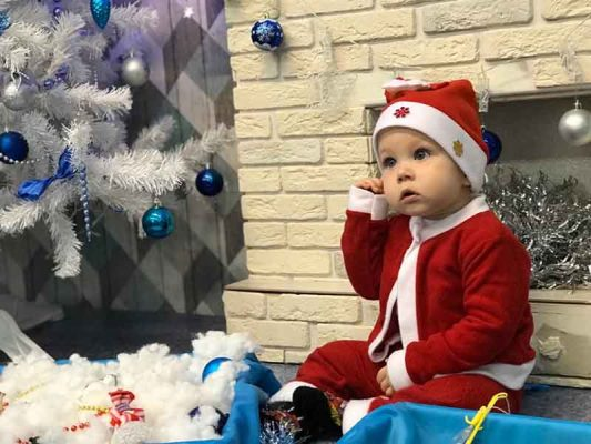 Никита Порубилкин (костюм «Дед Мороз»)