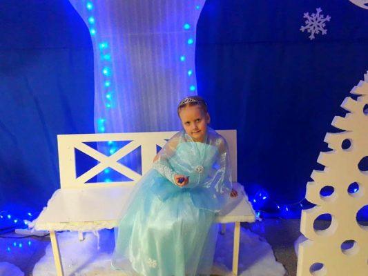 Полина Фролова (костюм «Принцесса Эльза»)