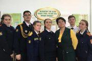 Отряд «Спасатель» из школы № 7 (Камышин)