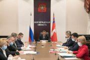 Совещание у губернатора Андрея Бочарова (пресс-служба областной администрации)