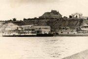 Камышин, 1950-е годы. Пристань-причал на Волге