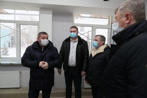 Андрей Бочаров в Камышине (пресс-служба администрации Волгоградской области)
