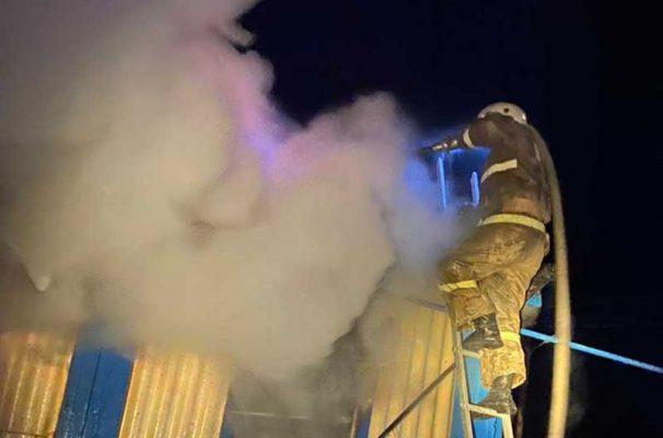 Ликвидация пожара (ГУ МЧС по Волгоградской области)