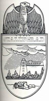 Проект нарукавного щита за взятие Сталинграда