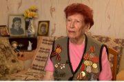 Ветеран Великой Отечественной войны Александра Алексеевна Моисеева
