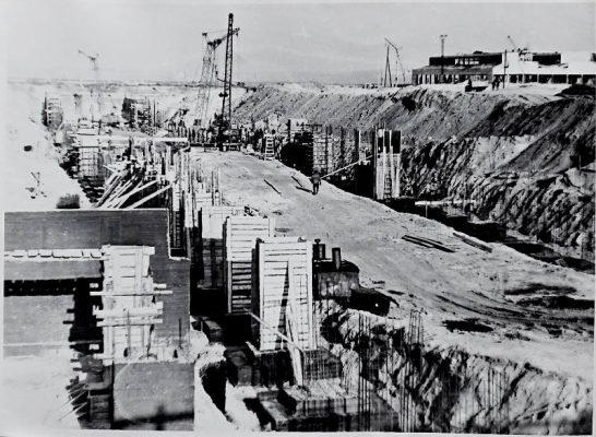 Начало строительства (1972 год)