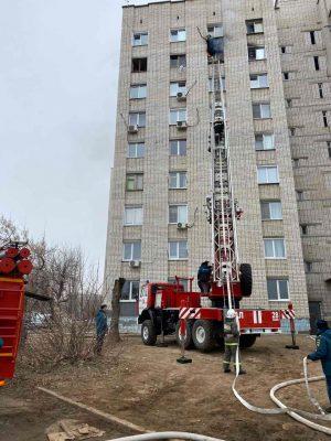 Камышин. Ликвидация пожара (ГУ МЧС по Волгоградской области)