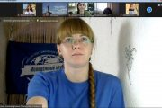 Руководитель Молодёжного клуба РГО «Новое поколение» Елена Леденцова (спикер форума)