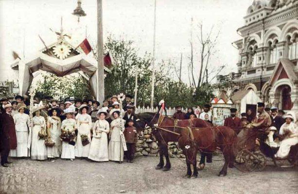 Камышин. Праздник «Белой ромашки». 1912 год