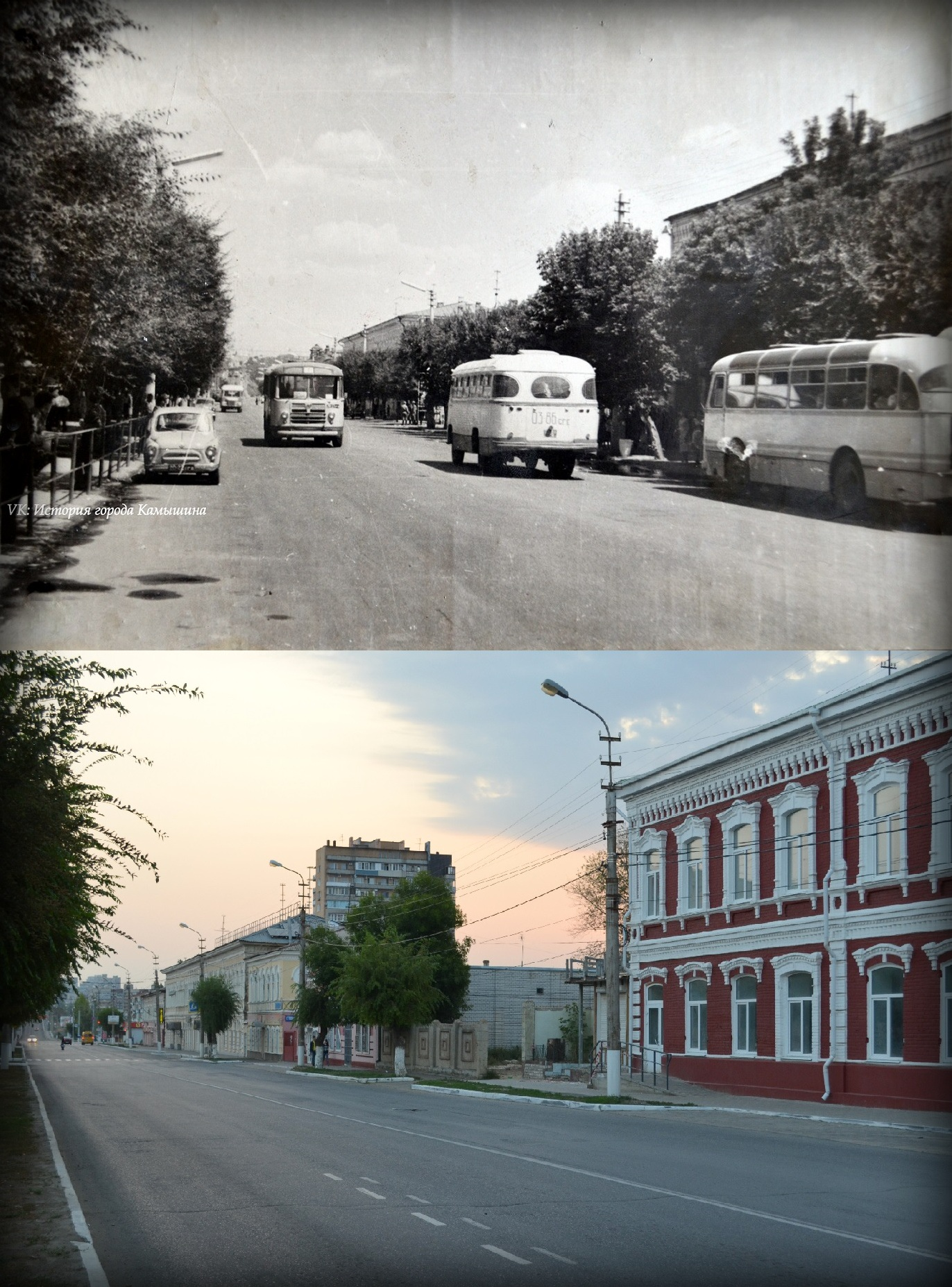 Камышин. Улица Пролетарская