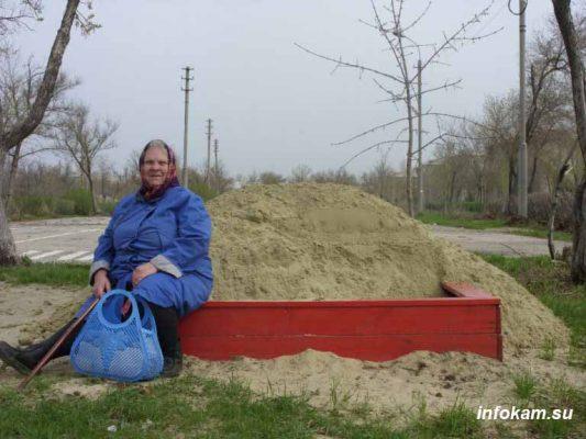 Типичный камышинский песок: хоть в бетон, хоть в песочницу