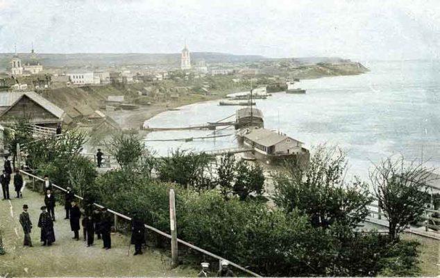 Камышин на Волге (начало XX века)