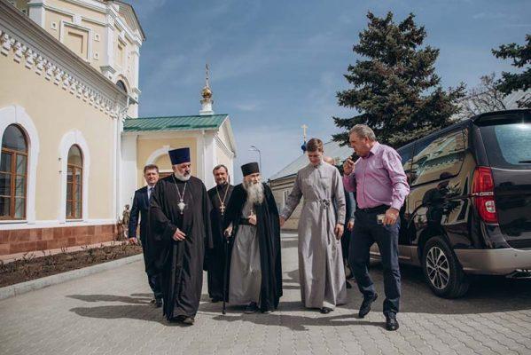 Схиархимандрит Илий в Камышине (фото Марины Солнцевой)