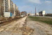 Работы по благоустройству пешеходной зоны улицы Базарова стартовали (фото Юлии Карпенко)