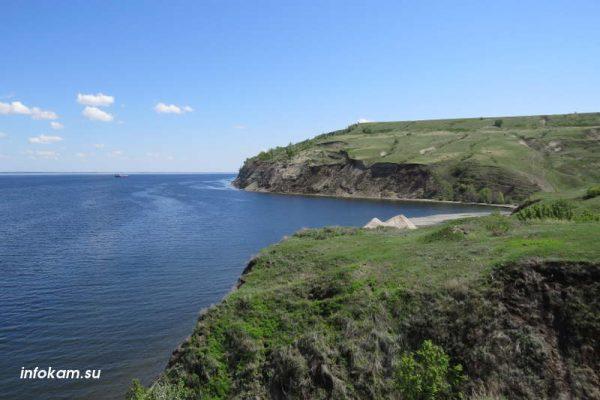 Волга в Камышинском районе