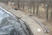 Камышин. Реконструкция набережной у парка Топольки