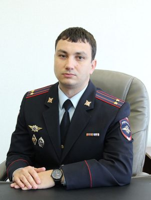 Начальник Межмуниципального отдела МВД России «Камышинский» Дмитрий Дегтярев