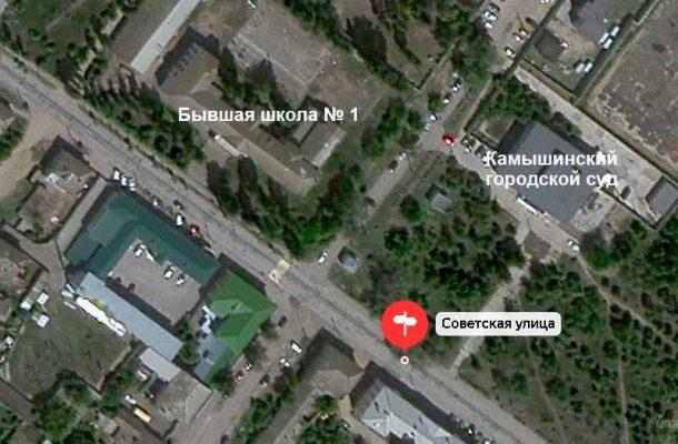 Место строительства новой поликлиники (Яндекс карта)