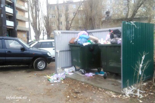 Спорная площадка по сбору ТКО (ул. Гоголя, 25)