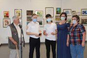 Камышин. Вручение паспортов в день рождения А.П. Маресьева