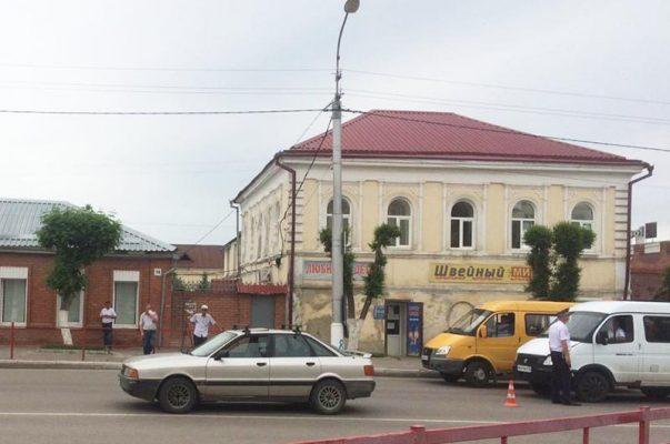 На месте ДТП (Межмуниципальныйотдел МВД России «Камышинский»)