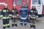 Роман Умбертов, Юрий Крикунов, Павел Северин и Мурад Омаров (ГУ МЧС по Волгоградской области)