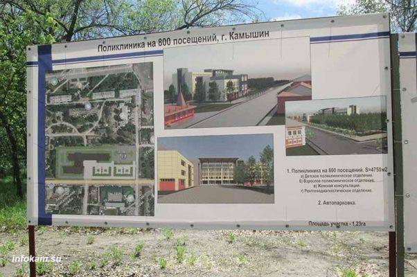 Эскизный проект будущей поликлиники
