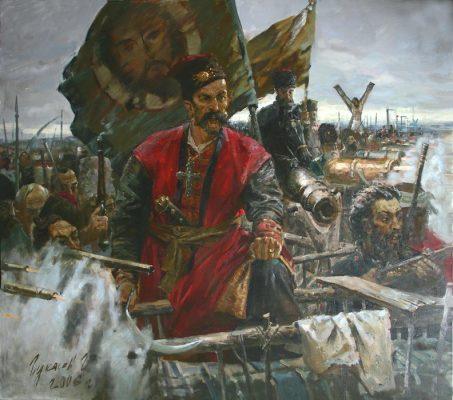 «Бунт» (художник Григорий Гукасов)