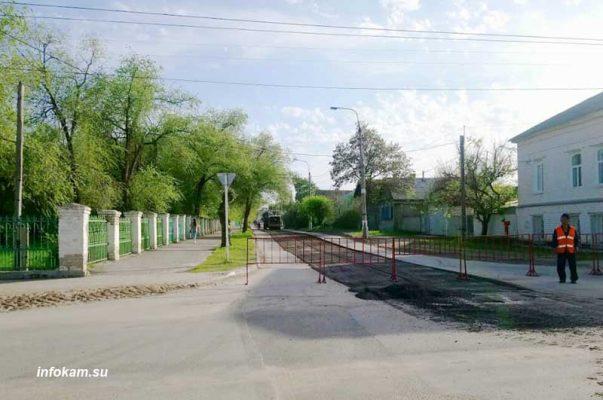 Стартовал ремонт улицы Калинина (фото Пётр Баранов)