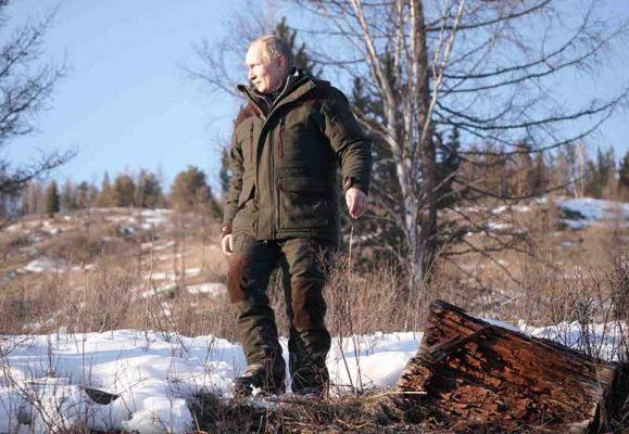 Владимир Путин. Поездка в Сибирский федеральный округ (сайт президента страны)
