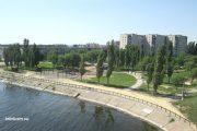 Камышин. Идёт реконструкция парка Топольки