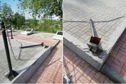 На месте ЧП (администрация города Камышина)