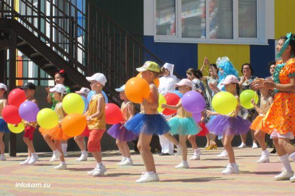 Камышин. На открытии нового детского сада