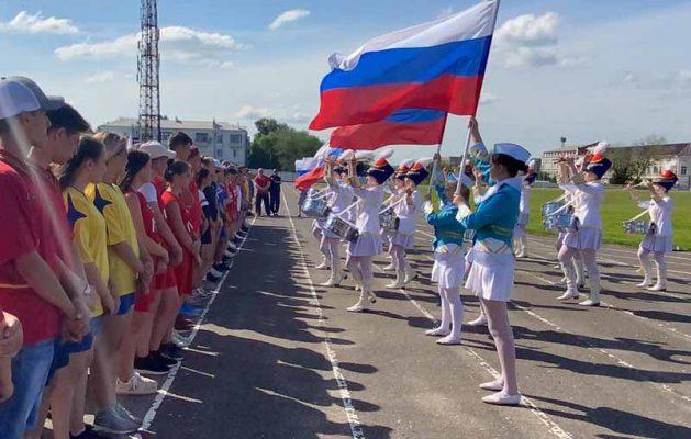 Камышин. Школьники региона борются за победу во Всероссийских спортивных играх
