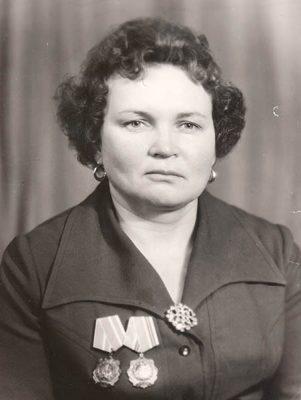 Валентина Пантелеевна Мисюра (Кравченко)