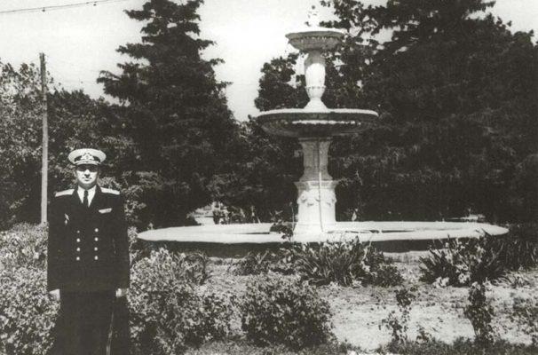 М.Н. Чибисов в камышинском городском парке