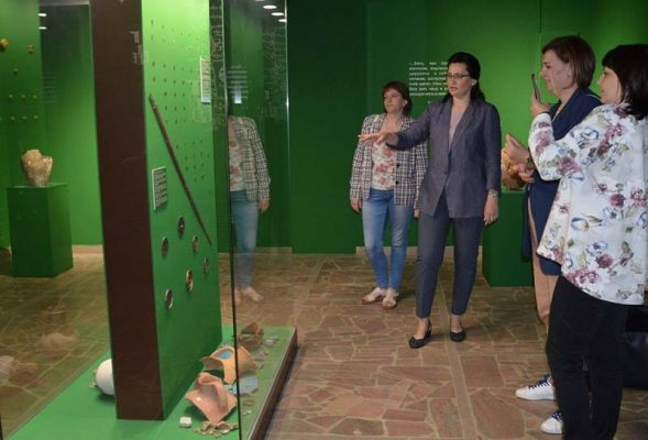 Гости из Камышина в музее города Энгельса (Энгельсский краеведческий музей)
