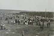 Праздник древонасаждения питомника в Камышине, 23 апреля 1911 г.