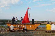 На областном фестивале «Волжские просторы» (фото природный парк «Щербаковский»)