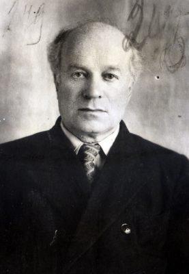 Константин Георгиевич Шульмейстер. Фотография из уголовного дела