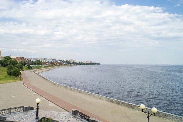 Если не знать сразу, где сделана эта фотография, чем не побережье какого-нибудь морского курорта?