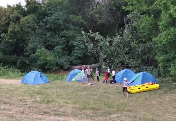Лагерь у Костарево