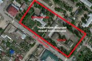 Территория будущей поликлиники (Яндекс карта)