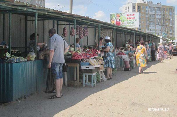 Камышин. Сельхозярмарка на улице Базарова