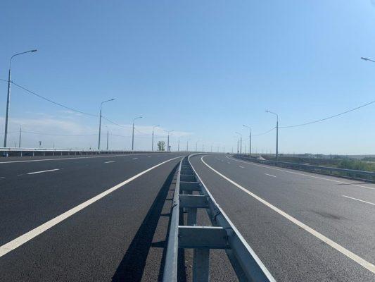 Реконструированный участок на 4 полосы с разделением потоков (пресс-служба Росавтодора)