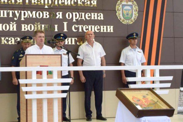 Камышин, Прощание с бригадой ВДВ (пресс-служба администрации города)