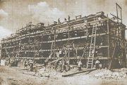Камышин. Строительство школы № 1 (1935 год)