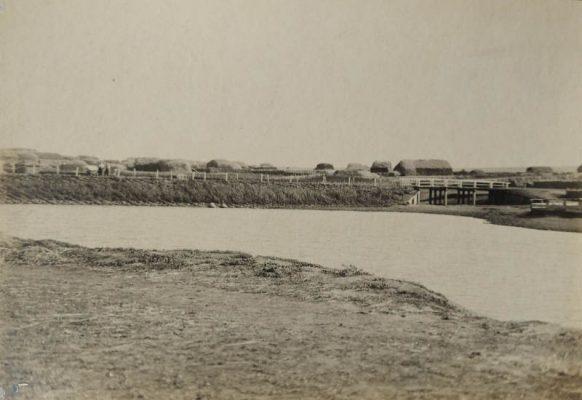 Плотина и мост в селе Семеновка Камышинского уезда